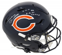 """Mike Ditka Signed Bears Full-Size Authentic On-Field SpeedFlex Helmet Inscribed """"H.O.F. 88"""" & """"S.B. XX Champs"""" (Schwartz COA) at PristineAuction.com"""