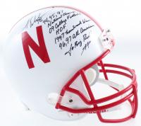 Grant Wistrom Signed Nebraska Cornhuskers Full-Size Helmet With Multiple Inscriptions (JSA COA) at PristineAuction.com