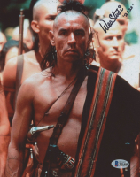 """Wes Studi Signed """"The Last of the Mohicans"""" 8x10 Photo Inscribed """"2020"""" (Beckett COA) at PristineAuction.com"""