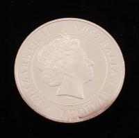 "2015 Elizabeth II ""Austrailian Funnel-Web Spider"" $1 Dollar 1 Ounce .999 Silver Bullion Round at PristineAuction.com"