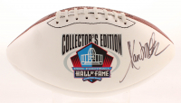 Marcus Allen Signed NFL Hall of Fame Logo Football (NFL Hall of Fame COA) at PristineAuction.com