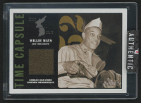 Willie Mays 2001 Topps Heritage Time Capsule #WM at PristineAuction.com