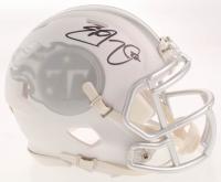 Eddie George Signed Titans White ICE Speed Mini Helmet (JSA COA) at PristineAuction.com