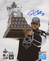 Jonathan Quick Signed Kings 8x10 Photo (Palm Beach COA) at PristineAuction.com