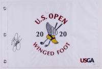 Rickie Fowler Signed 2020 U.S. Open Golf Pin Flag (JSA COA) at PristineAuction.com