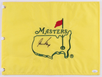 Gary Player Signed Masters Tournament Golf Pin Flag (JSA COA) at PristineAuction.com