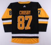 Sidney Crosby Signed Penguins Captain Jersey (Beckett COA) at PristineAuction.com