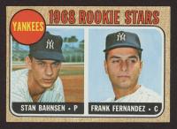 1968 Topps #214 Rookie Stars / Stan Bahnsen / Frank Fernandez at PristineAuction.com