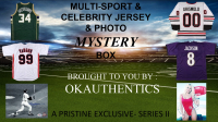 OKAuthentics Multisport & Celebrity Jersey & Photo Mystery Box - Series II at PristineAuction.com