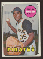 Manny Sanguillen 1969 Topps #509 at PristineAuction.com