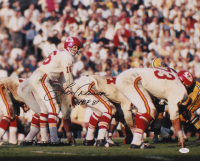 "Len Dawson Signed Chiefs 16x20 Photo Inscribed ""HOF 87"" (JSA COA) at PristineAuction.com"