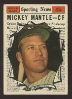 Mickey Mantle 1961 Topps #578 All-Star at PristineAuction.com