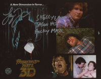 """Shelly Finkelstein Signed """"Friday the 13th"""" 8x10 Photo Inscribed """"Shelly Gave Jason His Hockey Mask"""" (Legends COA) at PristineAuction.com"""