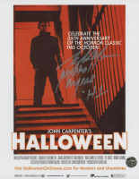 """Tony Moran Signed """"Halloween"""" 8x10 Photo Inscribed """"Michael Myers"""" & """"H1"""" (Legends COA) at PristineAuction.com"""