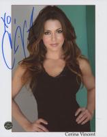 "Cerina Vincent Signed 8x10 Photo Inscribed ""XO"" (Legends COA) at PristineAuction.com"
