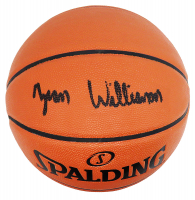Zion Williamson Signed NBA Game Ball Series Basketball (Fanatics Hologram) at PristineAuction.com