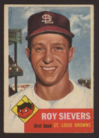Roy Sievers 1953 Topps #67 at PristineAuction.com