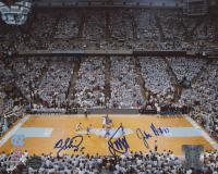 John Henson, Dexter Strickland & James Michael McAdoo Signed North Carolina Tar Heels 8x10 Photo (Legends COA) at PristineAuction.com