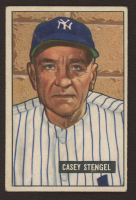 Casey Stengel 1951 Bowman #181 Manager at PristineAuction.com