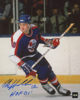"Dale Hawerchuk Signed Jets  8x10 Photo Inscribed ""HOF 01"" (COJO COA) at PristineAuction.com"