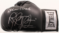 """Ray """"Boom Boom"""" Mancini Signed Everlast Boxing Glove Inscribed """"Italian Strong"""" (JSA COA) at PristineAuction.com"""