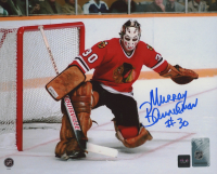 Murray Bannerman Signed Blackhawks 8x10 Photo (COJO COA) at PristineAuction.com
