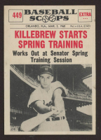 Harmon Killebrew 1961 Nu-Card Scoops #449 at PristineAuction.com