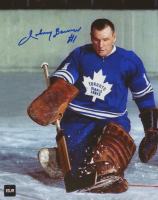 Johnny Bower Signed Maple Leafs 8x10 Photo (COJO COA) at PristineAuction.com