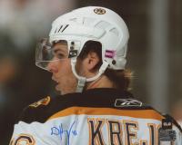 David Krejci Signed Bruins 8x10 Photo (COJO COA & Krejci Hologram) at PristineAuction.com