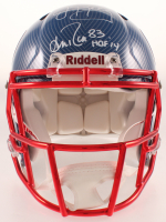 "Jim Kelly & Andre Reed Signed Bills Full-Size Authentic On-Field Hydro Dipped Speed Helmet Inscribed ""HOF '14"" (JSA Hologram) at PristineAuction.com"