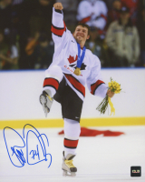 Theo Fleury Signed Team Canada 8x10 Photo (COJO COA) at PristineAuction.com