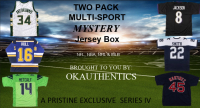 OKAUTHENTICS Two Pack Multi-Sport Jersey Mystery Box Series IV at PristineAuction.com