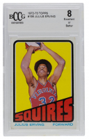 Julius Erving 1972-73 Topps #195 RC (BCCG 8) at PristineAuction.com