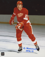 "Vaclav Nedomansky Signed Red Wings 8x10 Photo Inscribed ""HHOF 19"" (COJO COA) at PristineAuction.com"