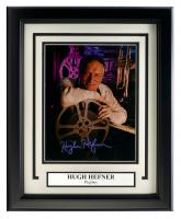 Hugh Hefner Signed 11x14 Custom Framed Photo Display (PSA LOA) at PristineAuction.com