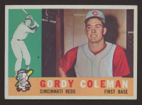 Gordy Coleman 1960 Topps #257 RC at PristineAuction.com