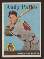 Andy Pafko 1958 Topps #223 at PristineAuction.com