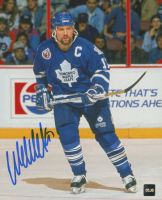 Wendel Clark Signed Maple Leafs 8x10 Photo (COJO COA) at PristineAuction.com