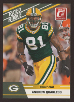 Andrew Quarless 2010 Donruss Rated Rookies #3 at PristineAuction.com