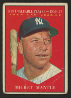 Mickey Mantle 1961 Topps #475 MVP at PristineAuction.com