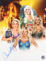 Charlotte Flair Signed WWE 11x14 Photo (Pro Player Hologram) at PristineAuction.com