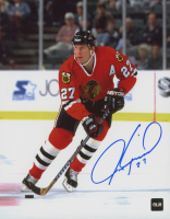 Jeremy Roenick Signed Blackhawks 8x10 Photo (COJO COA) at PristineAuction.com