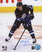 Mark Scheifele Signed Jets 8x10 Photo (COJO COA) at PristineAuction.com