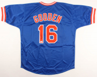 "Dwight ""Doc"" Gooden Signed Jersey Inscribed ""84 ROY"" (JSA COA) at PristineAuction.com"