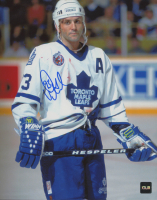 Doug Gilmour Signed Maple Leafs 8x10 Photo (COJO COA) at PristineAuction.com