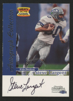 Steve Largent 1999 Sports Illustrated Autographs #14 at PristineAuction.com