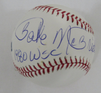 "Bake McBride Signed OML Baseball Inscribed ""1980 WSC"" (JSA COA) at PristineAuction.com"