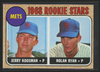 1968 Topps #177 Rookie Stars Jerry Koosman RC / Nolan Ryan RC at PristineAuction.com