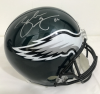 Zach Ertz Signed Eagles Full-Size Helmet (JSA COA & Radtke Hologram) at PristineAuction.com
