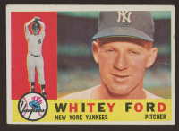 Whitey Ford 1960 Topps #35 at PristineAuction.com
